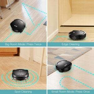 housmile robotic vacuum cleaning modes